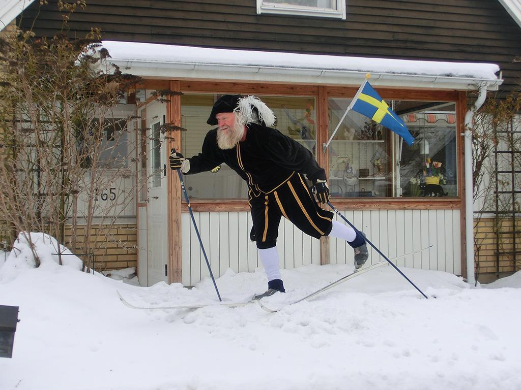 Gustav Wasa åker Vasaloppet